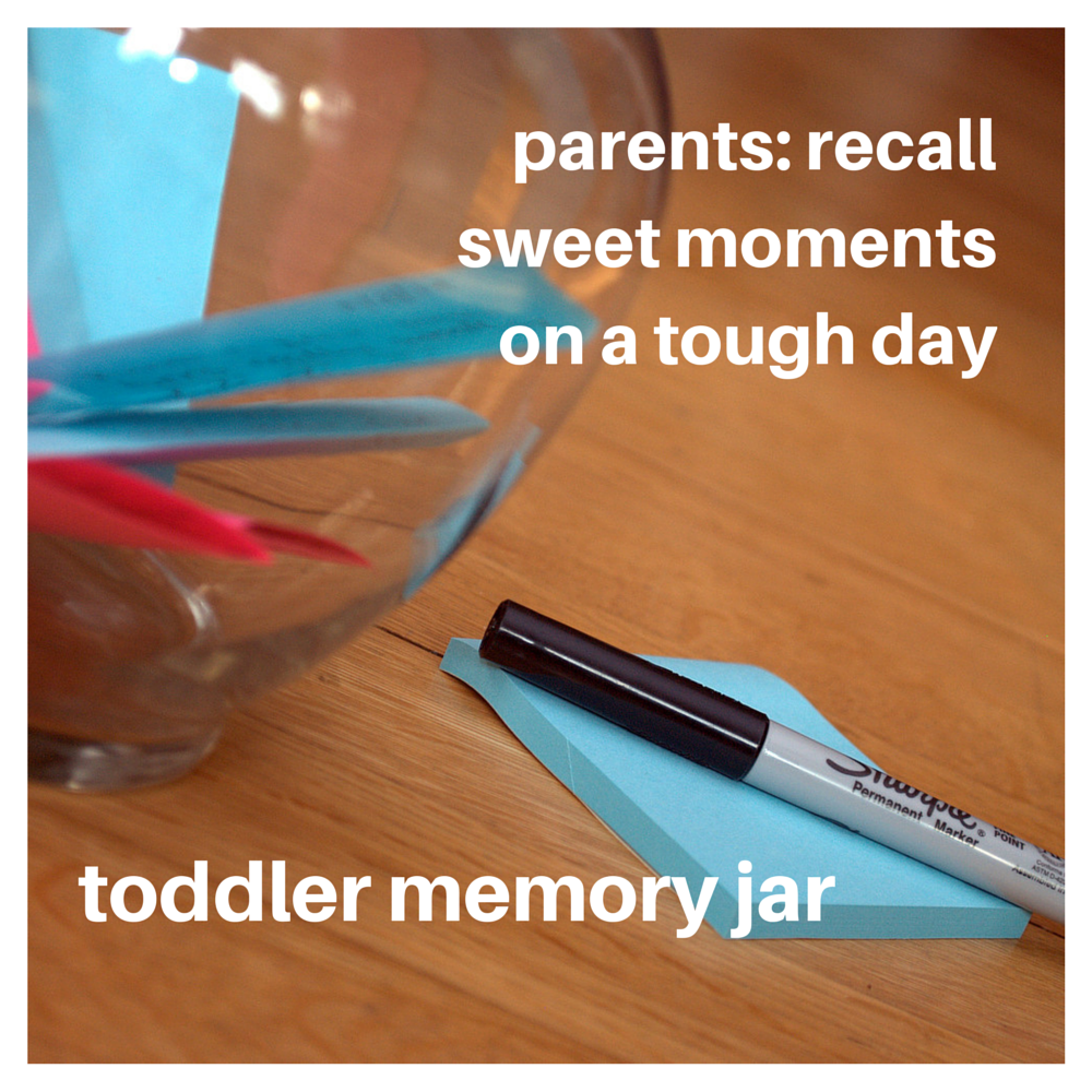 Remember sweet moments on a tough day