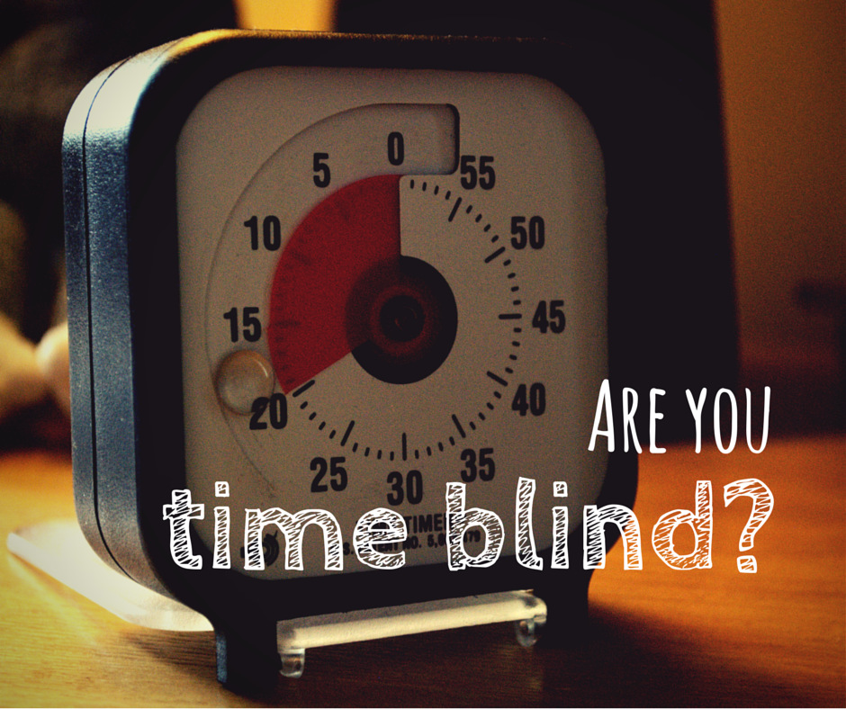Are you time blind?