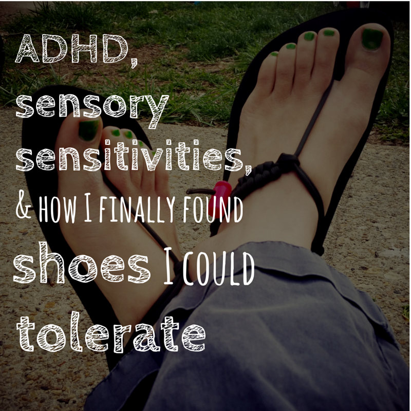 sensory sensitivities and shoes graphic