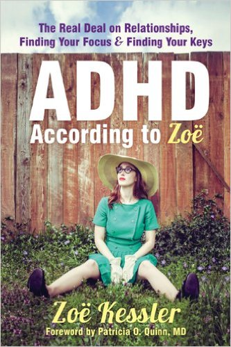ADHD According to Zoe cover art