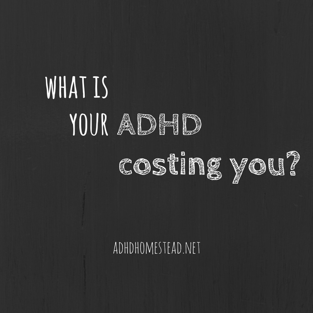 cost of ADHD