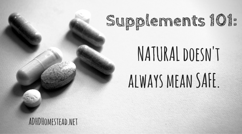 ADHD supplements 101