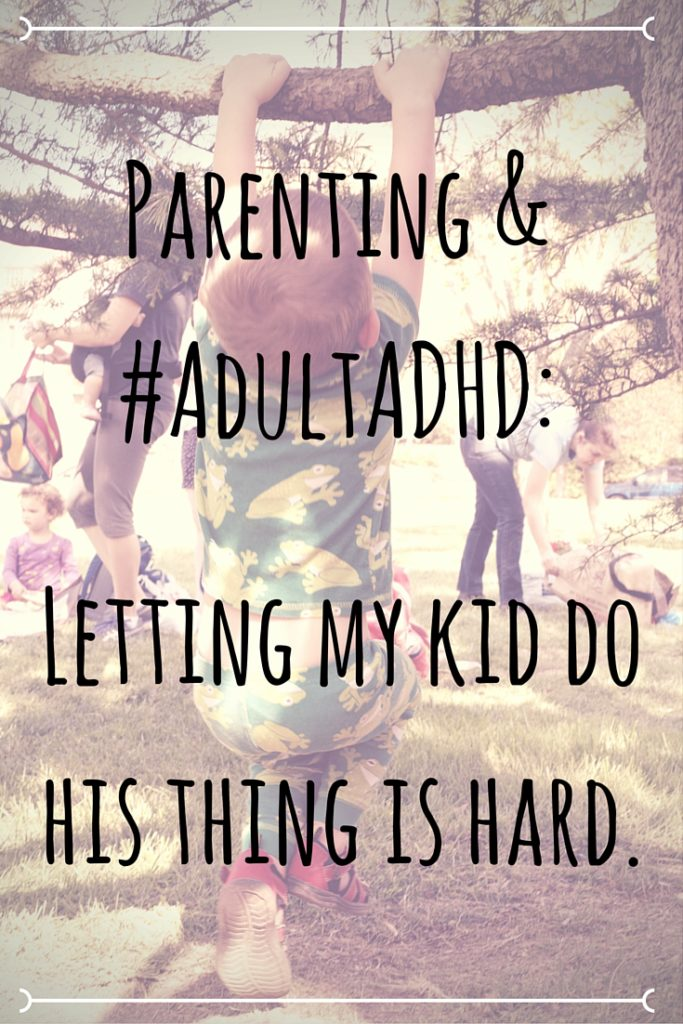 Parents with AdultADHD