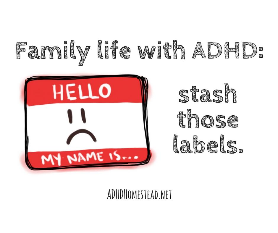 ADHD labels